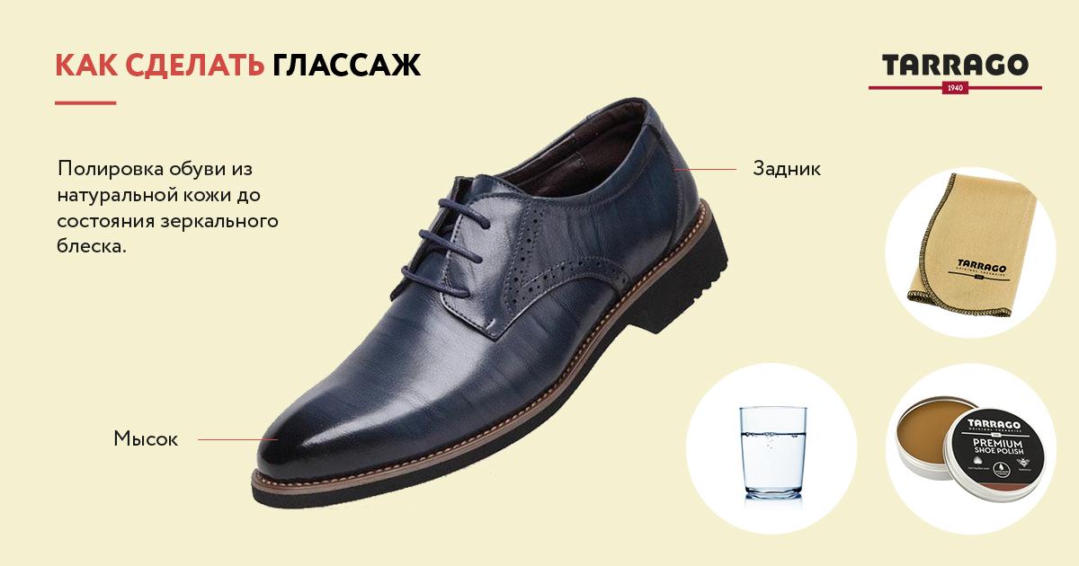 глассаж обуви